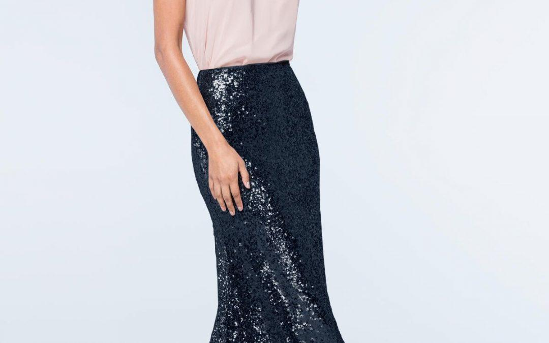 Celine Sequin Skirt