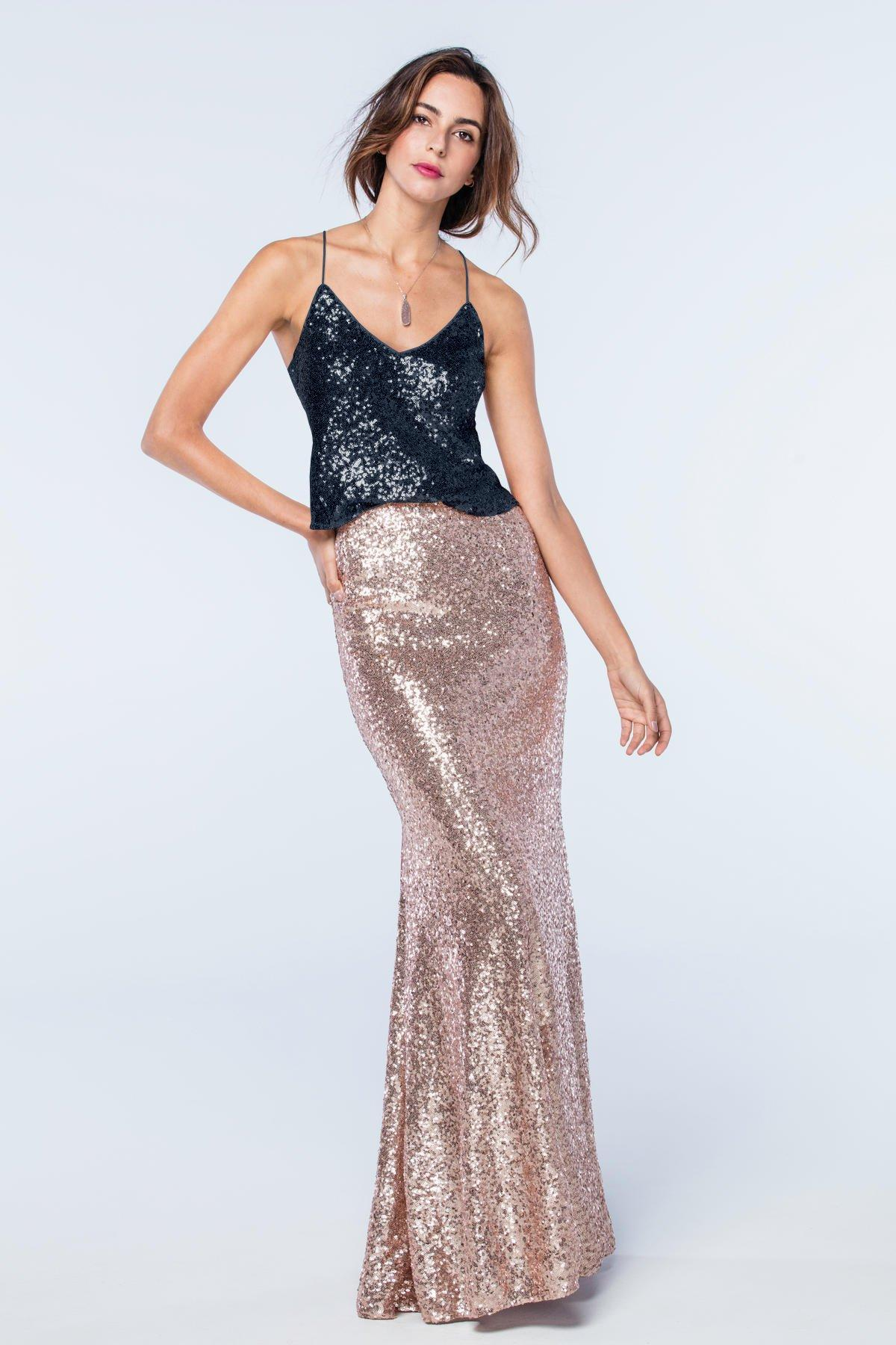 Zoe Tank Sequin Top