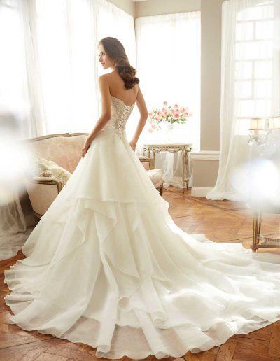 Sophia Tolli Bardot Wedding Dress 2