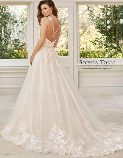 McKenna Sophia Tolli wedding dress