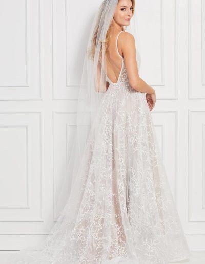 Bex Wedding Dress Back 2
