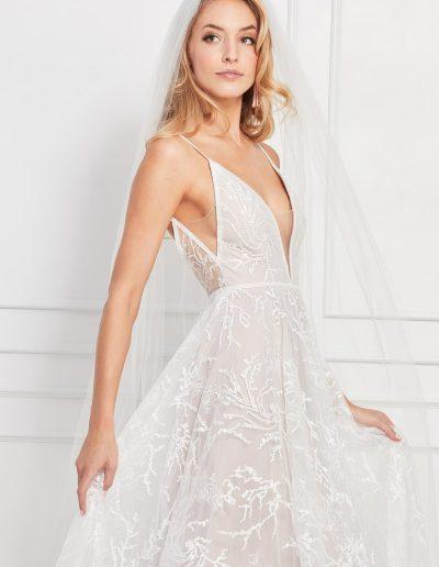 Bex Wedding Dress Back