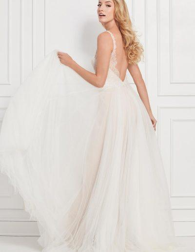 Janella Wedding Dress Back