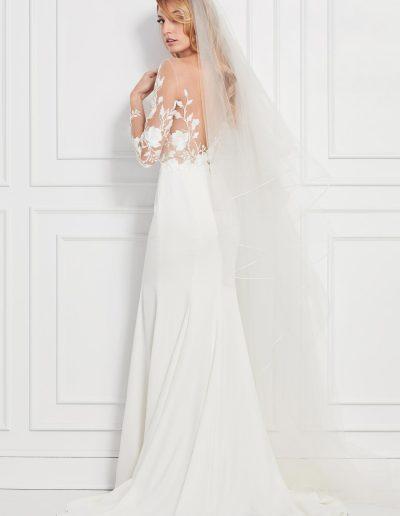Rylan Wedding Dress Back Wtoo by Watters