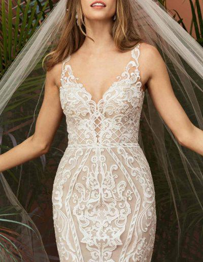 Viola Wedding Dress Zoom