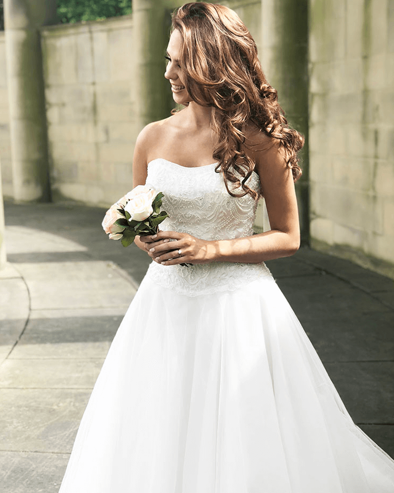 Holly wedding dress from the Beautiful and Timeless 2021 collection