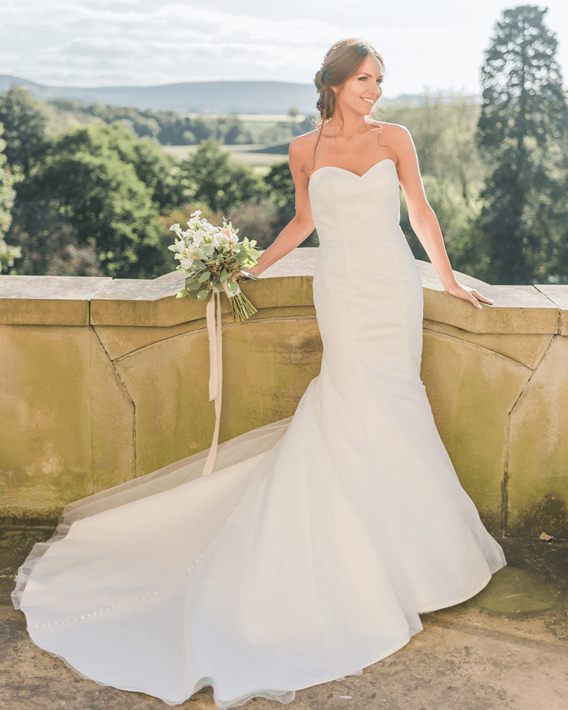 lilly oltle valley wedding dress from the Beautiful and Timeless 2021 collection