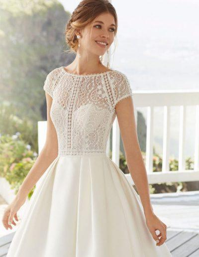 rosa clara calea wedding dress