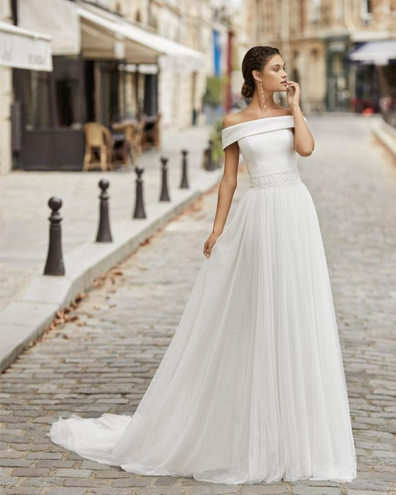 rosa clara theon wedding dress