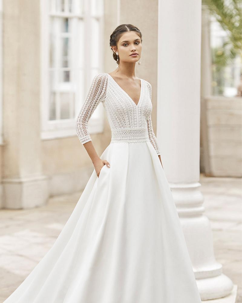 rosa clara toscana wedding dress 2021 collection