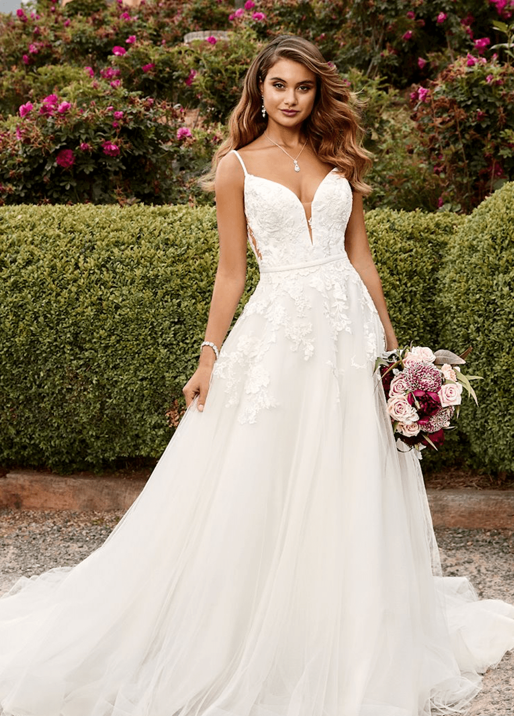 Aurora wedding dress from the Sophia Tolli 2021 collection