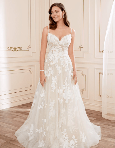 Nikiti wedding dress front from the Sophia Tolli 2021 collection