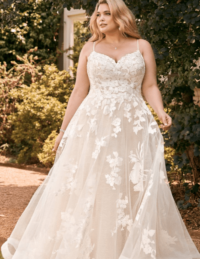 Nikiti wedding dress plus size from the Sophia Tolli 2021 collection