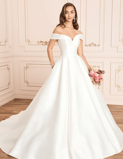Kennedy wedding dress front from the Sophia Tolli 2021 collection