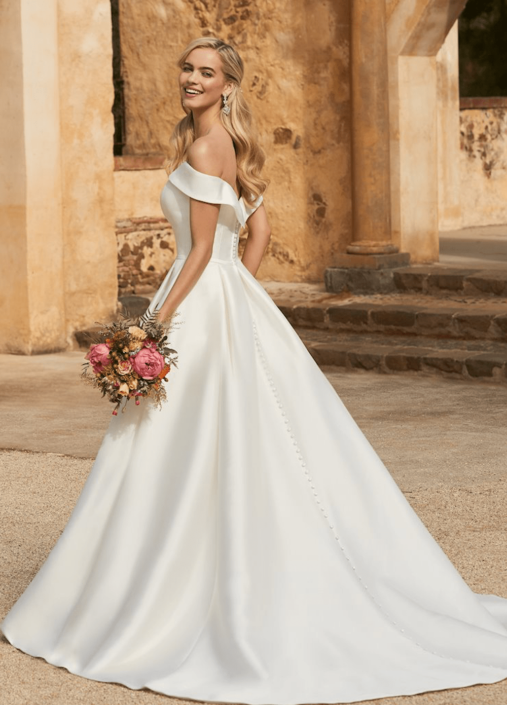 Kennedy wedding dress from the Sophia Tolli 2021 collection