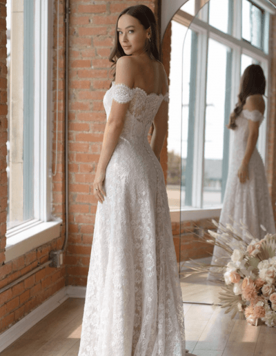 Baxon Ivory Blush Side From the Wtoo By Watters 2021 Collection