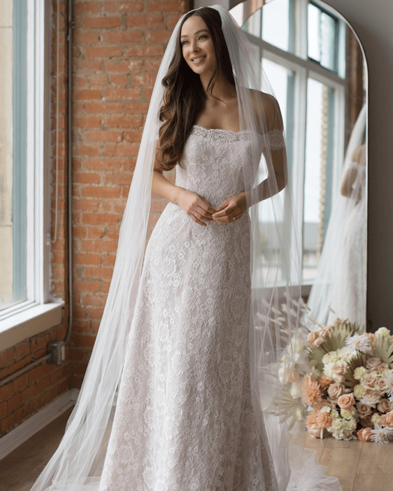 Baxon Wedding Dress front From The Wtoo Watters 2021 Collection