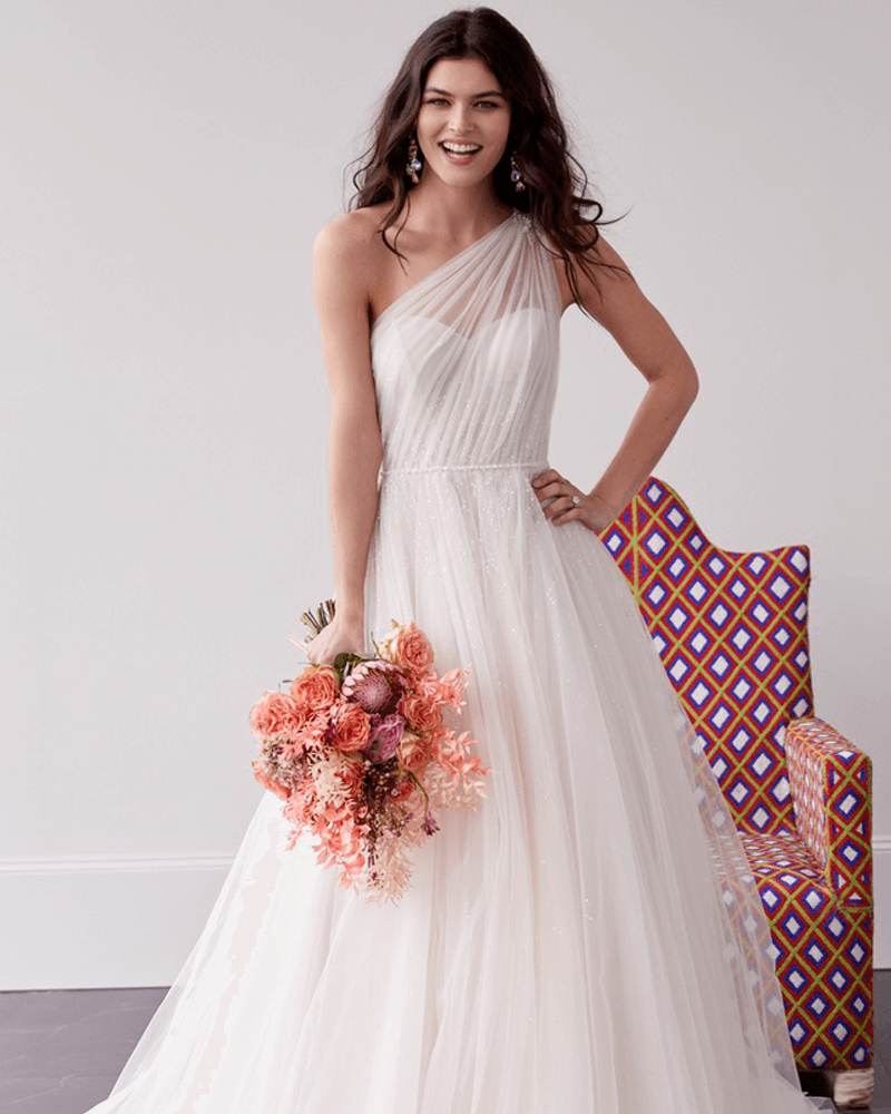 cassidy wedding dress front from Wtoo By Watters