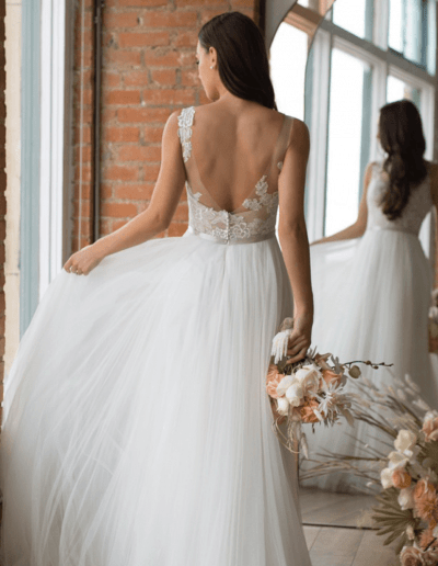 Devine Detailed Wedding Dress from the Wtoo By Watters 2021 Collection