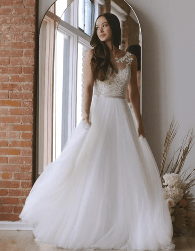 Devine wedding dress from the Wtoo By Watters 2021 Collection
