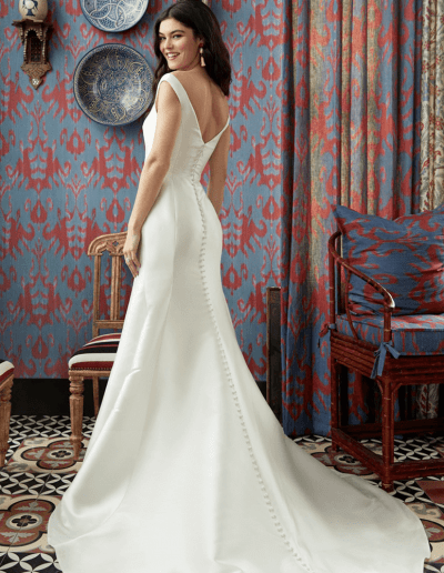 Infinity Wedding Dress Side From Wtoo By Watters