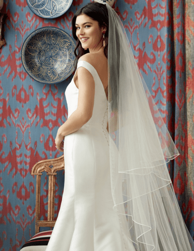 Infinity Wedding Dress and Veil From Wtoo By Watters
