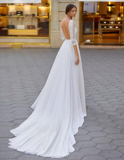 Lunanovias Yadir Wedding Dress Back
