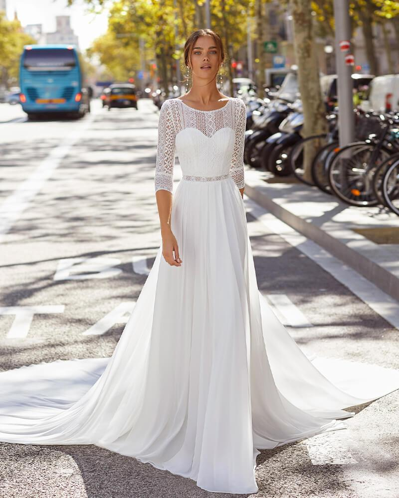 lunanovias yadir wedding dress from the 2021 collection