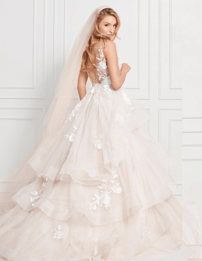 Montgomery wedding dress back from the Wtoo By Watters 2021 Collection