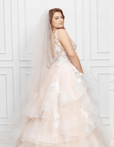 Montgomery plus size wedding dress by Wtoo By Watters