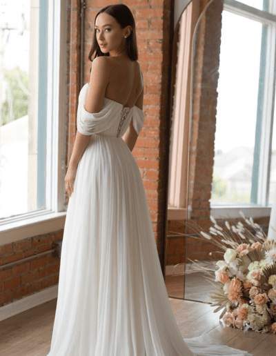 Ryder back wedding dress by Wtoo By Watters