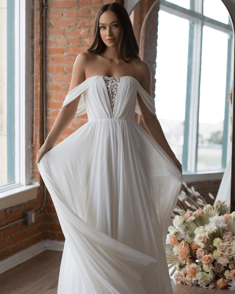 Ryder wedding dress front by Wtoo by Watters
