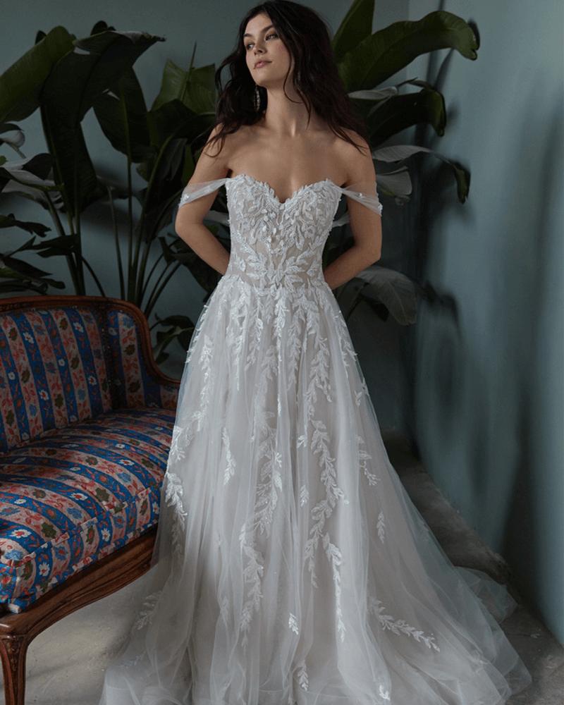 Zazie Wedding Dress Front From Wtoo By Watters