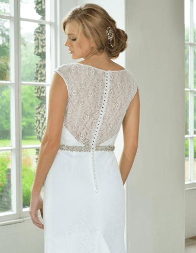 catherine parry wedding dress 1712 back