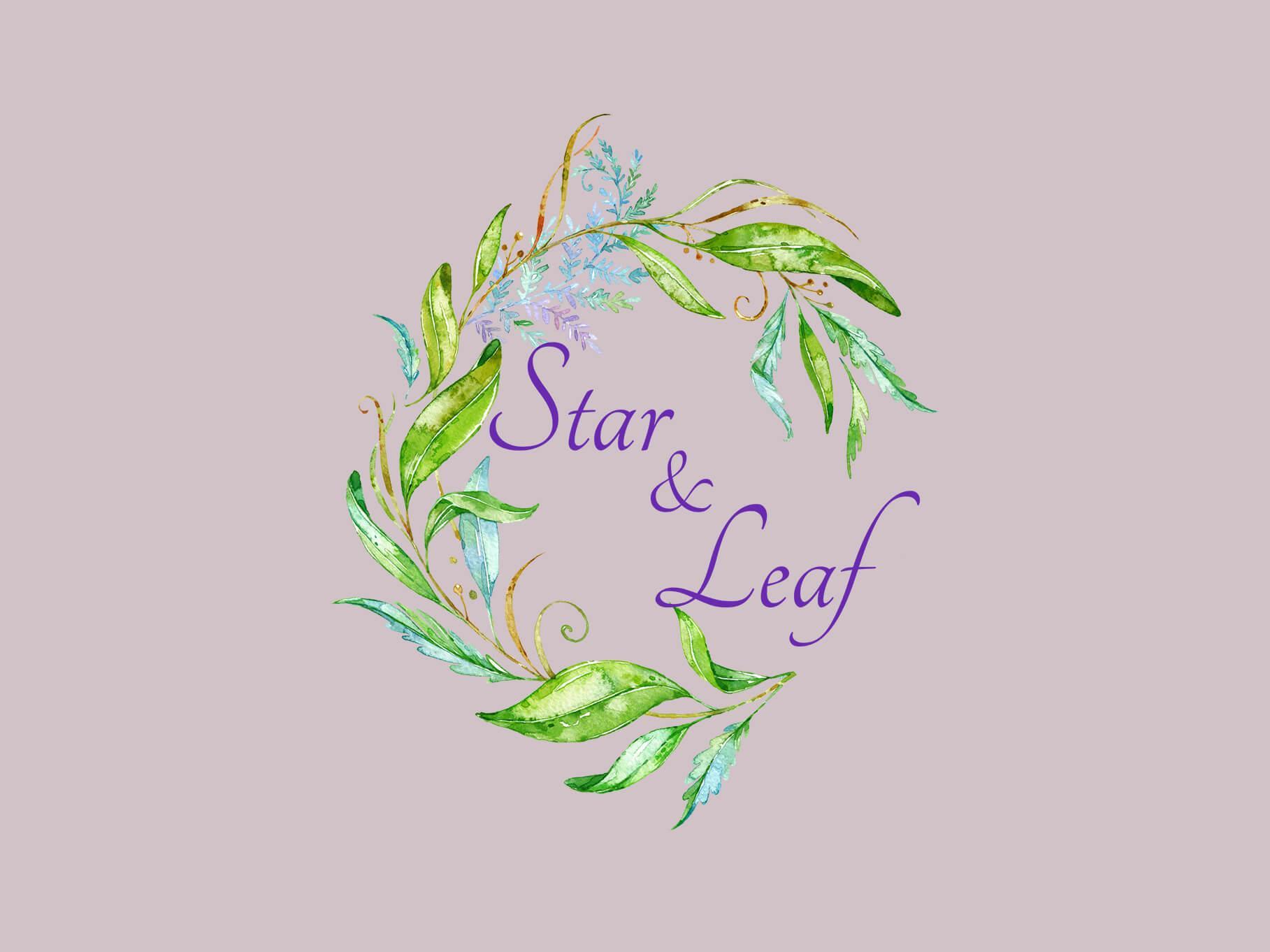 star and leaf veils logo