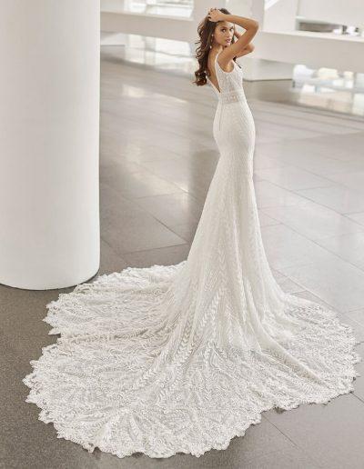 Neila Modern Dress from Rosa Clara 2022 Collection
