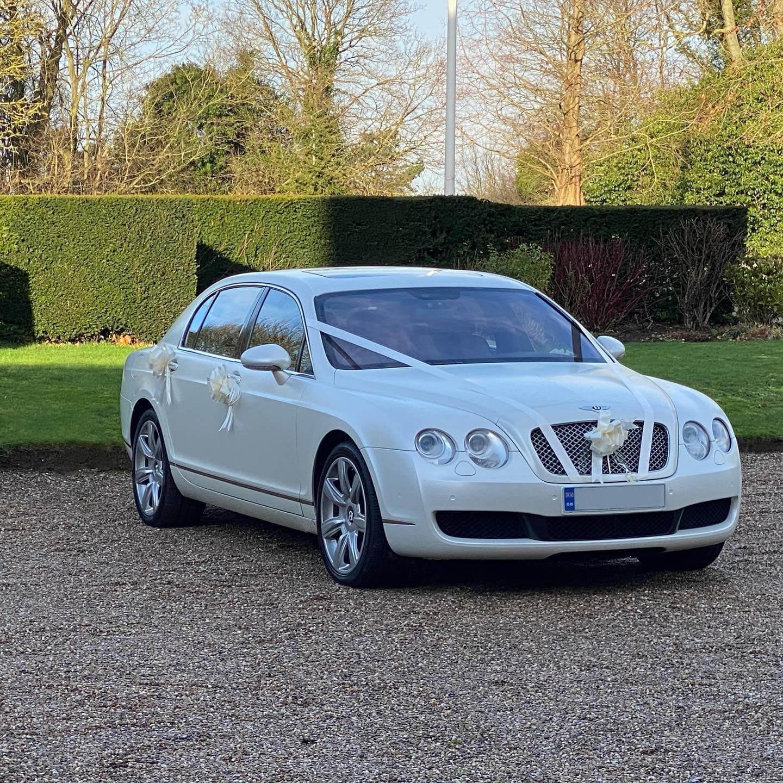 Bentley and Range Rover wedding cars